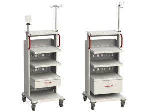 Стойки медицинские для аппаратуры СА